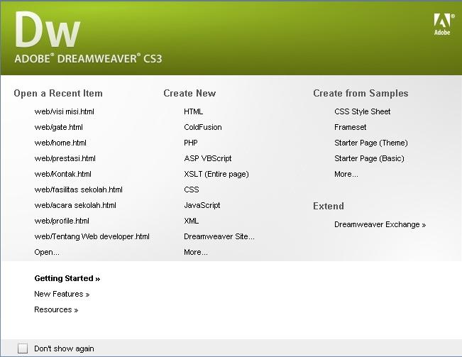 Membuat Website HTML dengan Dreamweaver [Tutorial] | Herdy Go ...