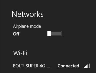 Setelah itu untuk password terdapat di device Bolt, buka tutup Bolt ...